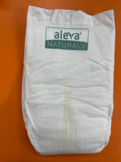 Biodegradable Bamboo T Shape Diaper with Elastic Ears