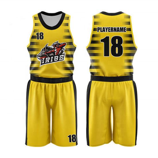 China Sublimation Digital Printing Custom Basketball Jersey Uniform Design China Basketball Jerseys And Custom Basketball Jerseys Price