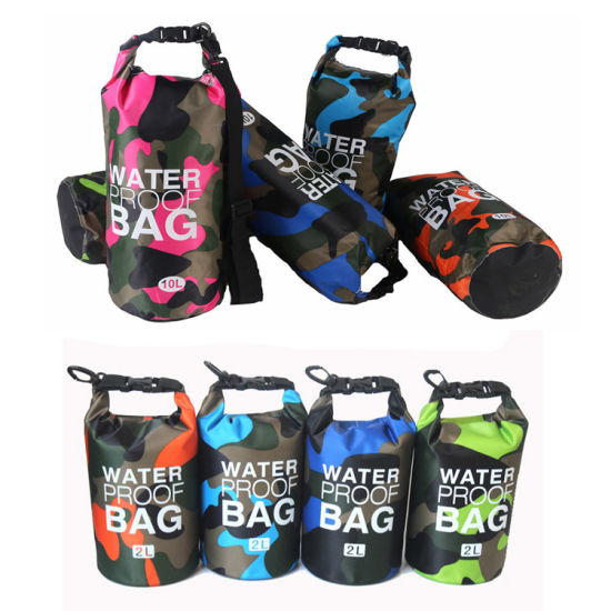 Durable PVC Tarpaulin Motorcycle Dry Bag Ocean Pack