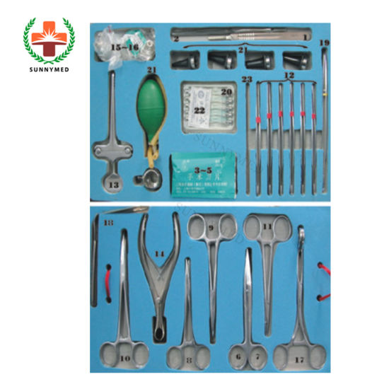 SA0040 Otolaryngology Foundation Instrument Ent Surgical Instruments pictures & photos
