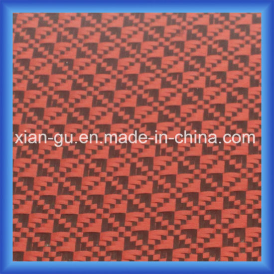 Square Pattern PARA Aramid Carbon Fiber Hybrid Fabric pictures & photos