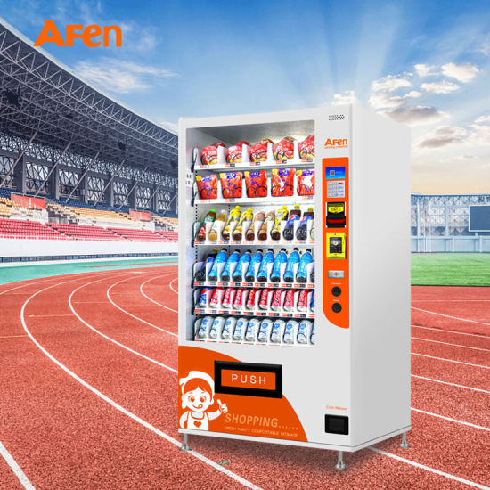 Afen Combo Snack and Beverage Vending Machine with Ce Approved