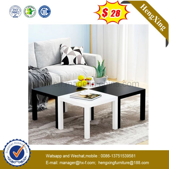 Best Price Home Living Room Furniture White Color MDF Coffee Table (UL-6587)