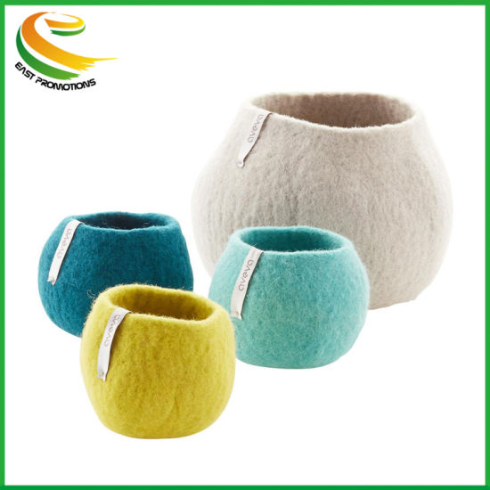 Custom Durable High Quality Felt Toy Book Container/Bins/Basket/Boxes/Cases pictures & photos