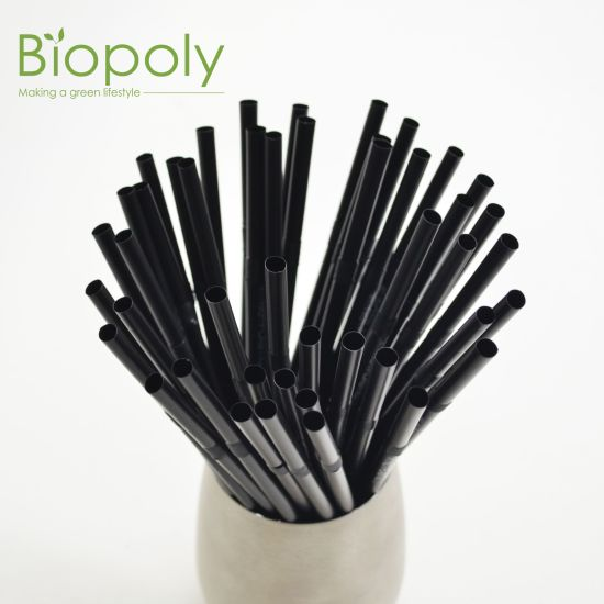 Bulk Flexible Colorful Customized Printed Disposable Flexible Straws