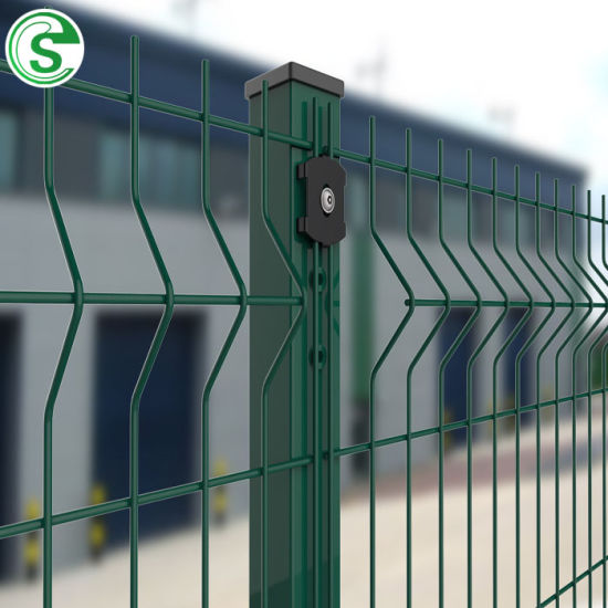 Home Garden Backyard Used Nylofor 3D Curve Wire Mesh Fence