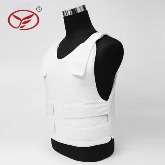 White Color Combat Aramid Material Ballistic Vest for Military
