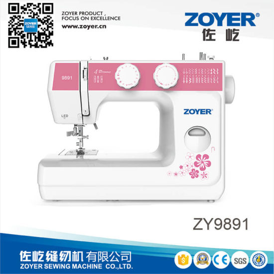 Zy9891 Zoyer Automatic Garment Household Mini Sewing Machine for Sale