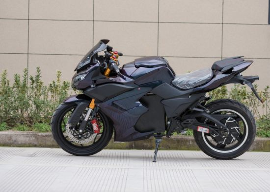 New Arrival Electric Racing Motorcycle 72V5000W50ah From China