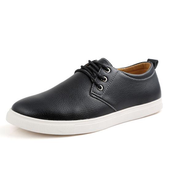 New Men's Business Suit Leather Shoes