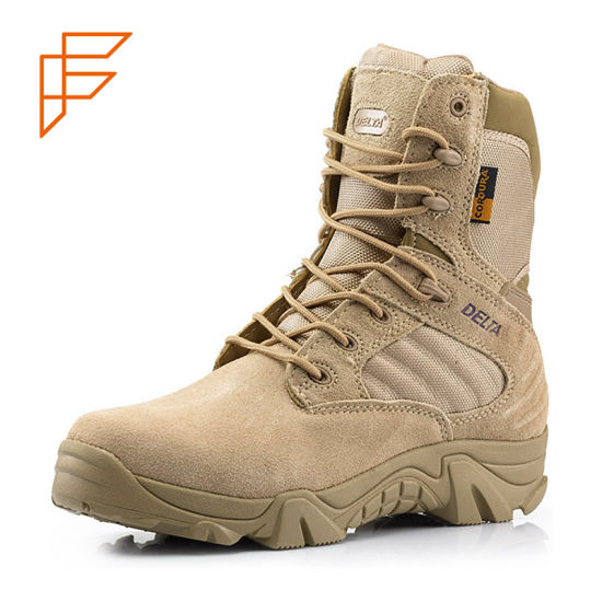 Saudi Arabia Us Delta Desert Army Shoe Combat Military Boot pictures & photos