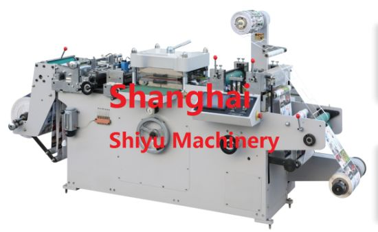 Automatic Flat Bed Adhesive Paper Die Cutting Machinery