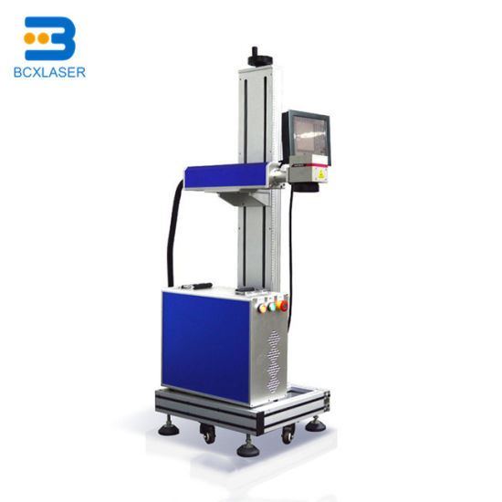 CO2 Flying Laser Marking Machine for Date and Serial Number
