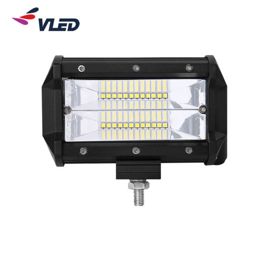 SUV/Truck/off Road CREE Dual Row 72W LED Light Bar 5 Inch LED Light Pod