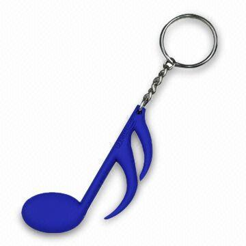 Cheap Custom Keychain 3D 2D Shape Plastic Silicon Rubber PVC Key Chain for Promotional Gift