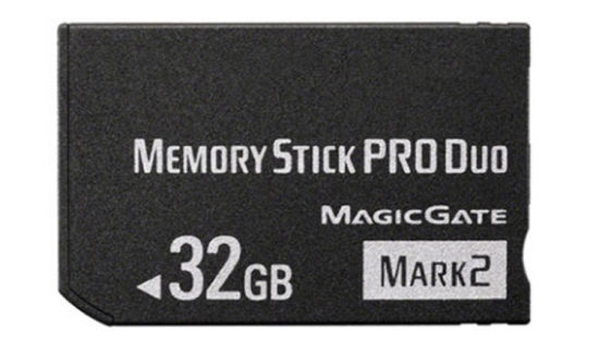 32GB Memory Stick PRO-Hg Duo (MS-Mark2) for Sony PSP /Camera