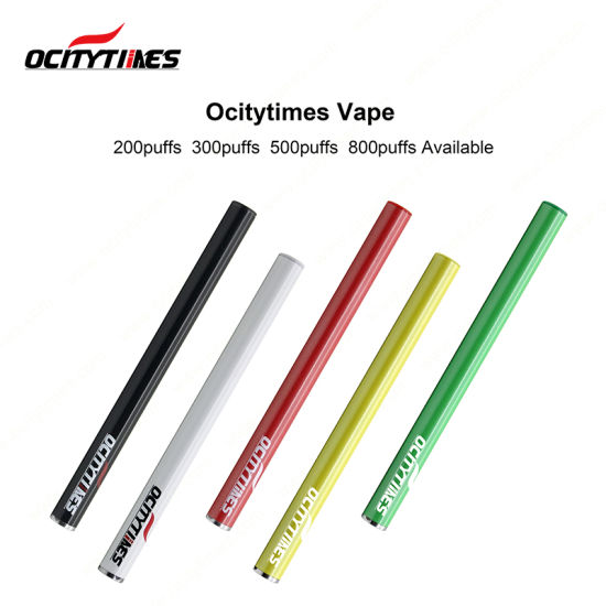 Ocitytimes 200 Puffs Wholesale Vitamin C Health Care Vape Pen E Cigarette