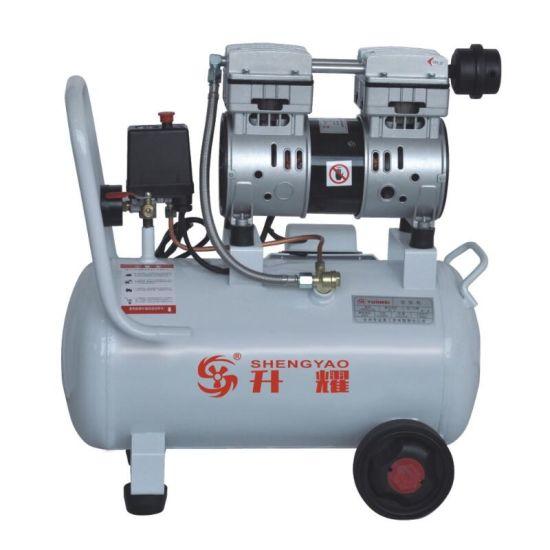 30L 750W/1HP Silent Oilless Piston Oil-Free Oil Free Air Compressor