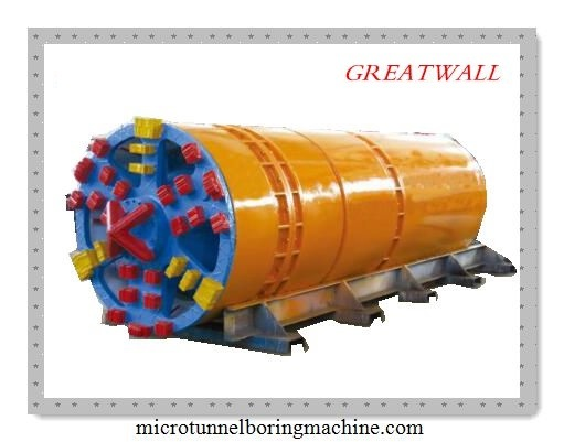 Npd800 Slurry Balance Microtunnel Boring Machine Pipe Jacking