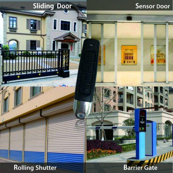 Wireless Remote Control 433Mhz Copy Garage Door Gate Barrier Learn Code