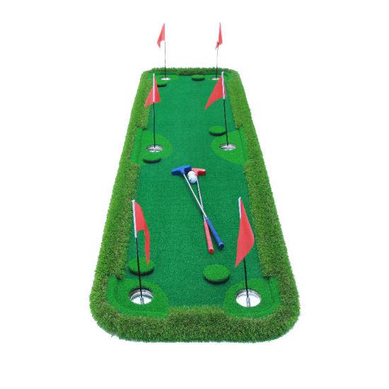 Portable Floating Putting Practice Indoor Mini Golf Green Mat