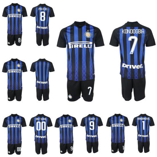 big sale 84a22 b7580 Wholesale Soccer Jerseys Goalkeeper Kit Gk Shirt Perisic Football Uniform