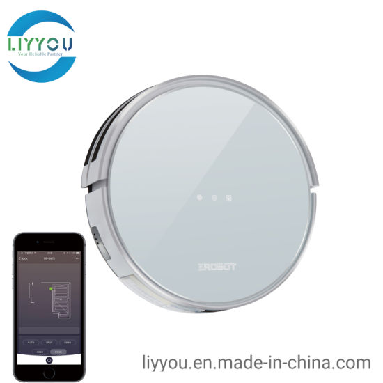 Strong Suction, Super Quiet, Self-Charging Robotic Vacuum Cleaner, Cleans Hard Floors to Medium-Pile Carpets