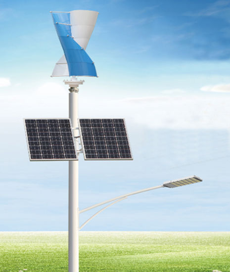 Sv Type 100W Small House Wind Turbines 12V 24V Vertical Axis Wind Generator System with Solar Panel