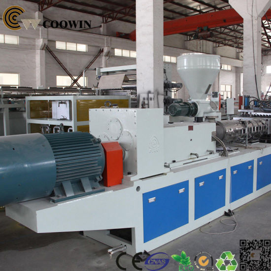 Wood Plastic Composite Production Line WPC Board Production Line pictures & photos