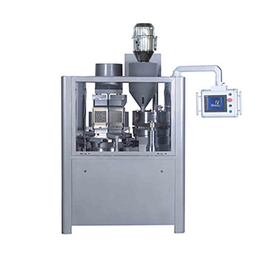 Njp Series High Speed Pharmaceutical Powder Pellets Hard Gelatin Lab Factory Machinery Automatic Coffee Capsule Filling Sealing Machine