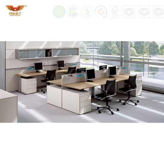 office work table. 6 Seater Office Staff Work Desk Call Center Workstation Table I