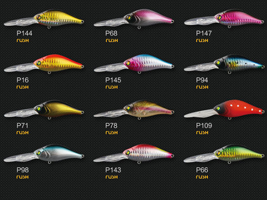 Plastic Fishing Lure (Rush Crank 65mm Floating) pictures & photos