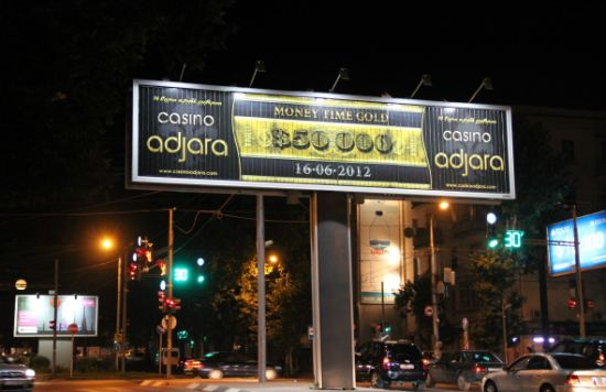 Advertising Tri-Vision Billboard with Unipole (F3V-131S)
