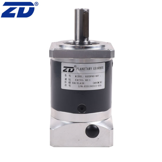 ZD 60mm Spur Gear High Precision Planetary Gearbox For Servo Motor