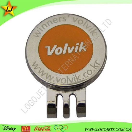 Custom Golf Ball Marker Blank Magnet Metal Divot Tool Golf Hat Clip