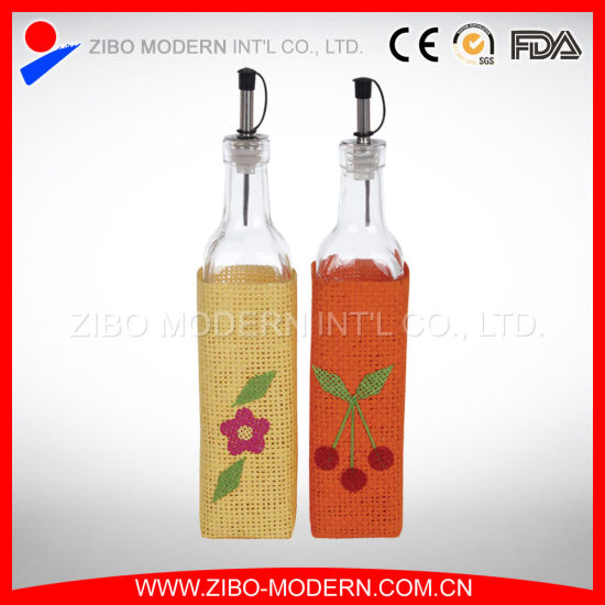 Popular Design Oil Glass Bottles for Olive Oil pictures & photos