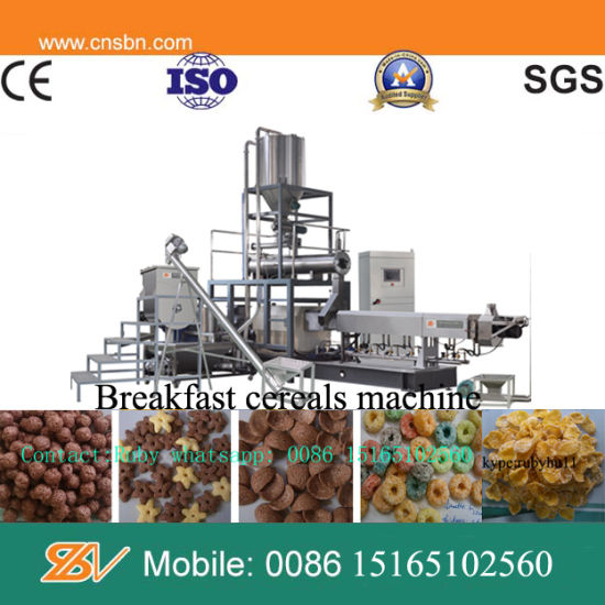 High Quality Low Price Profitable Automatic Breakfast Cereal Machine pictures & photos