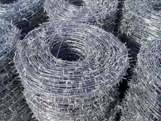 Galvanized Barbed Wire with Factory Price pictures & photos