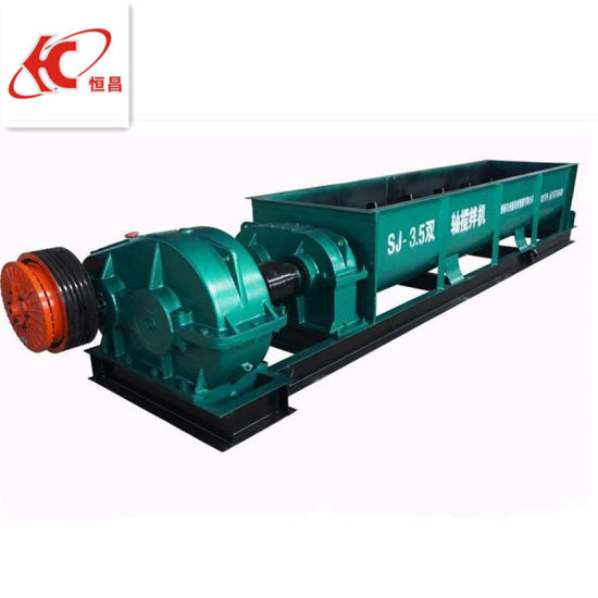 China Manufacturer Supply Ore Pulp Double Shaft Mixer pictures & photos