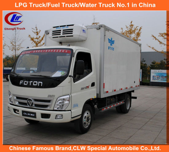 1.5tons 2tons Foton Mini Van Truck for Bottle Water Transport pictures & photos