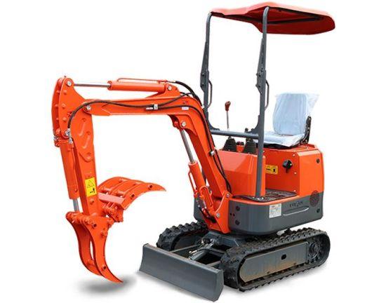 Competitive Price Qingdao Everun New Ere08 Crawler Mini Excavator Machine