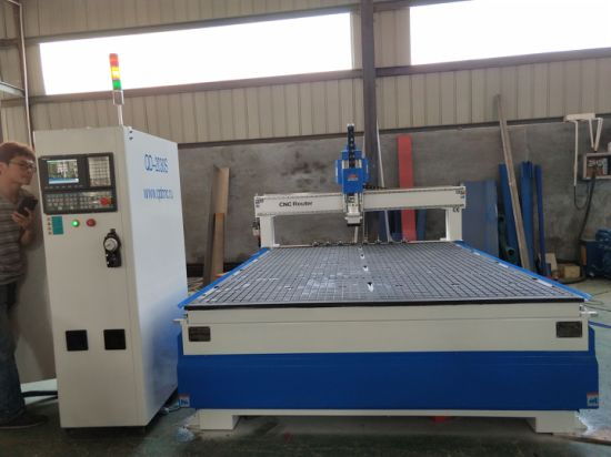Wood Furniture Making CNC Router with 9.0kw Air Cooling Atc Spindle Qd-1325s/1530s/2030s