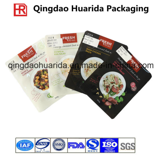 Plastic Flat Laminated Food Packaging Pouch, FDA Grade Food Bag pictures & photos