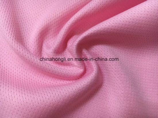 Knitting Fabric Construction : China 100%p 135gsm mesh jersey knitting fabric by construction
