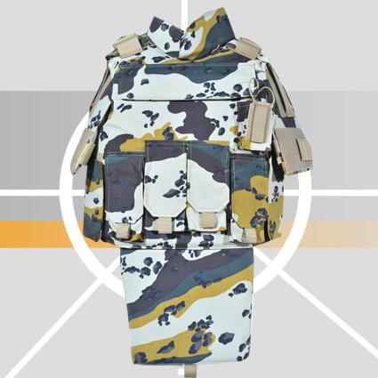 Six Color Desert Camo Bulletproof Jacket with Best Price