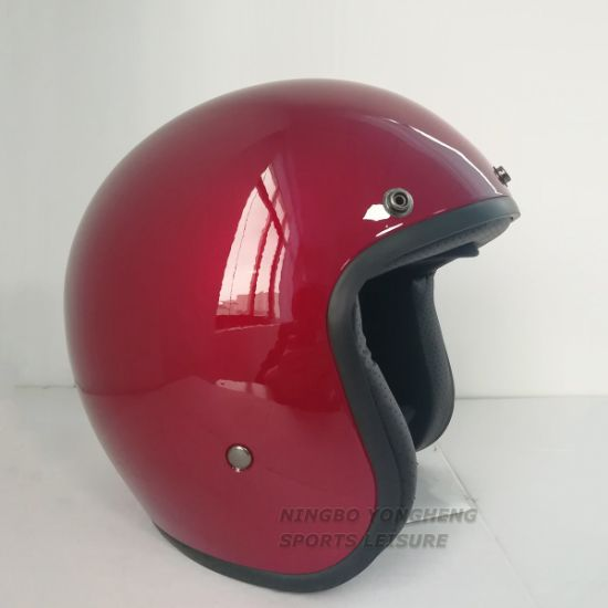 Custom Street Bike Helmet Half Open Face Helmet for Sale - China ...