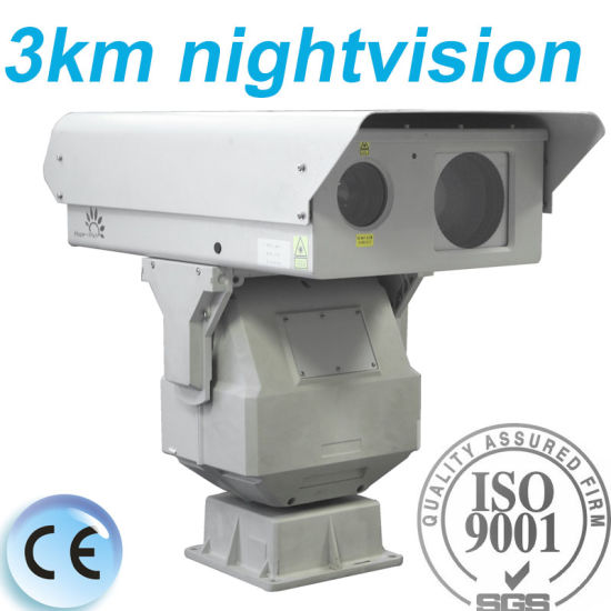 3 Km Night Vision Long Range PTZ Infrared Laser Camera pictures & photos