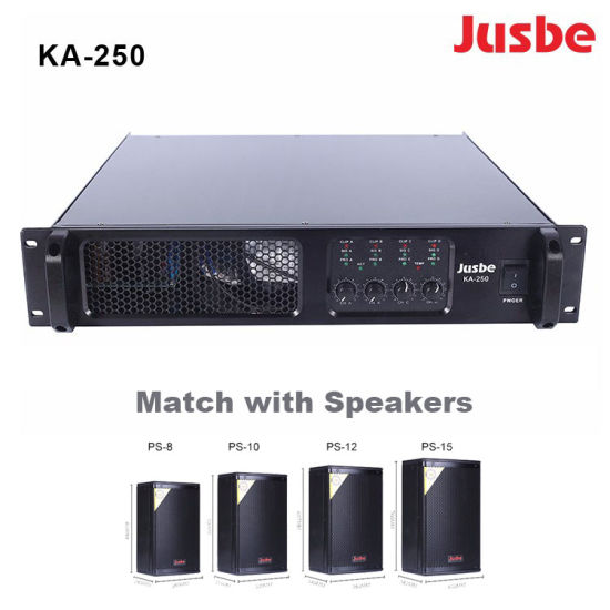 Ka-250 Professional Audio Power Amplifier Price PA Amplifiers with DSP