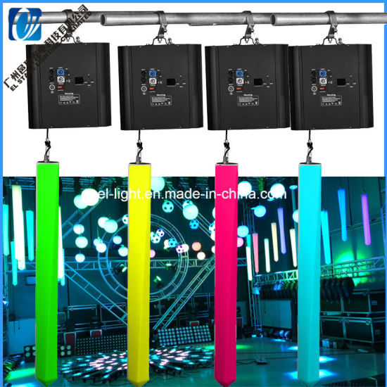 Stage Decoration Weddling Light with Mini LED Projector LED Kinetic Light Lifting Tube From EL Stage Lighting Factory