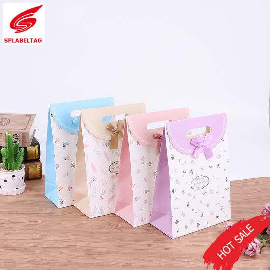 New Style Fancy Wholesale Fashion Paper Gift Bag